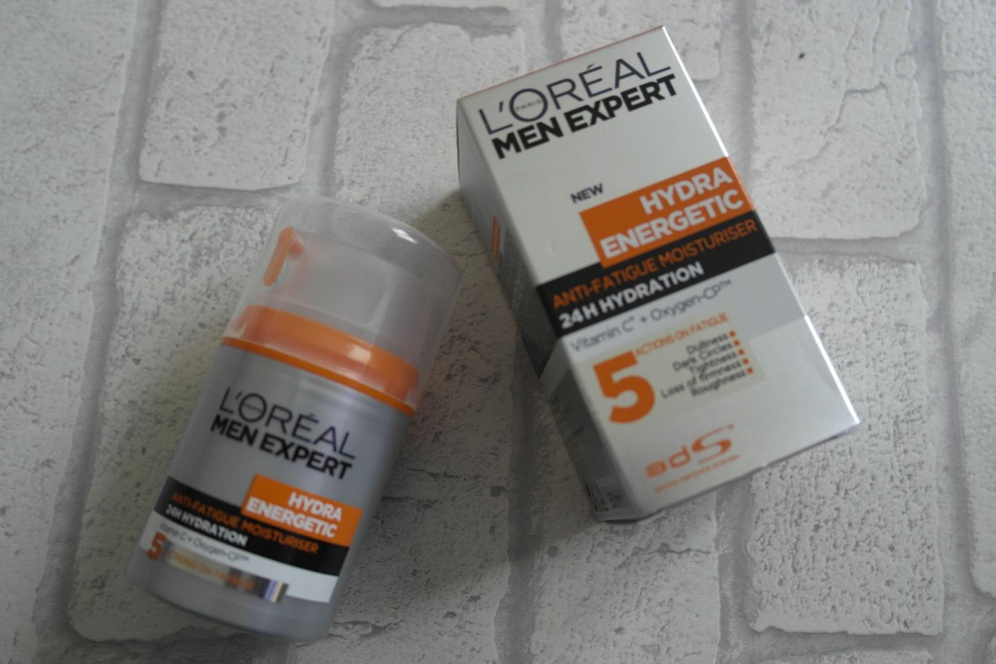 L'Oreal Men Hydra Energetic Anti-fatigue moisturiser