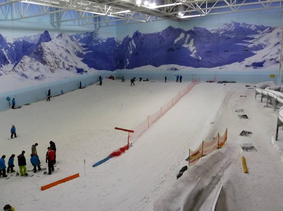 Snowboarding Chill Factore Manchester