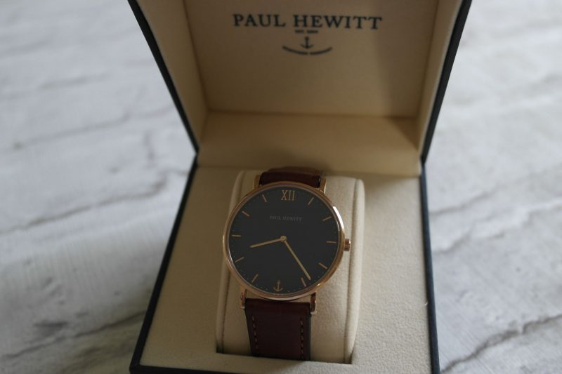 Paul Hewitt Leather Watch