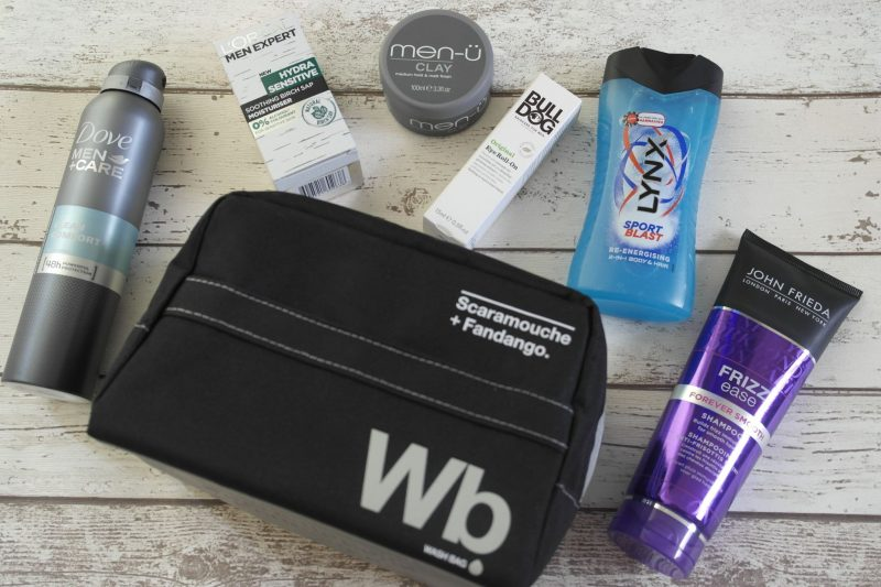 What's in my wash bag