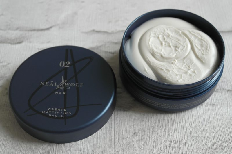 Neal & Wolf Men 02 Create mattifying paste