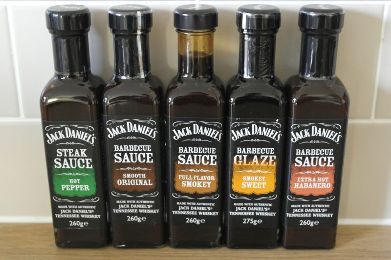 Jack Daniels Barbecue sauces