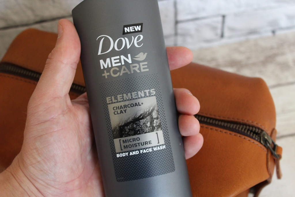 Dove men +care charcoal & clay clay body wash