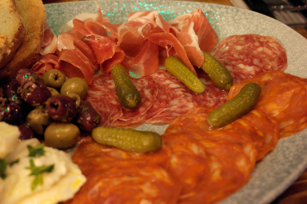 The Lost and Found, Leeds anti pasti starter